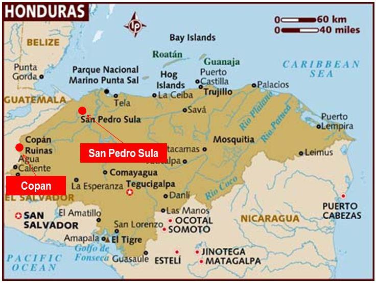 Copan-map-Honduras